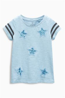Sequin Star T-Shirt (3-16yrs)