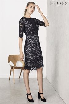 Hobbs Black Rafaela Dress