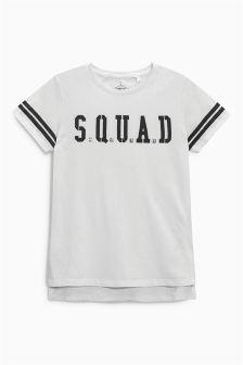 Longline Squad T-Shirt (3-16yrs)
