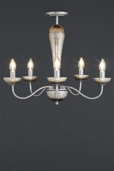 Champagne Ombre 5 Light Fitting