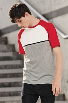 Colourblock Raglan T-Shirt