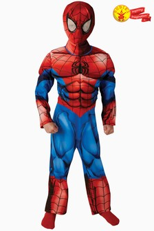Rubies Blue Spider-Man™ Fancy Dress Costume
