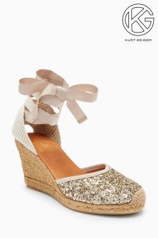KG Gold/Blush Mimi Wedge Sandal