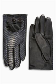 Snake Effect Gloves