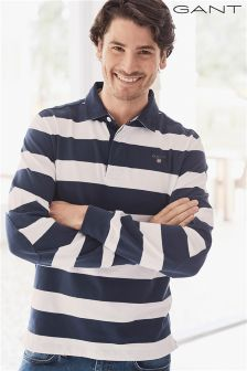 Gant Navy/White Stripe Rugby Top