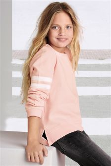 Arm Stripe Crew Neck (3-16yrs)