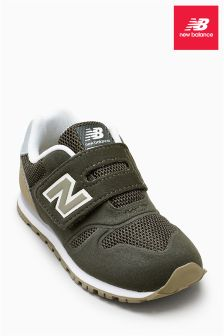 New Balance Green 373 Velcro Trainer