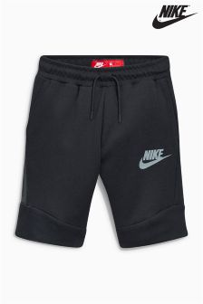 Nike Black Sportswear Tech Fleece Short