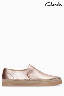Clarks Hidi Hope Rose Gold Slip-On