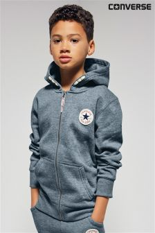 Converse Navy Marl Fleece Hoody