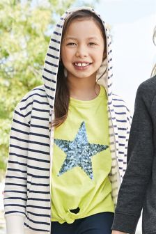 Shooting Star Tie Front T-Shirt (3-16yrs)