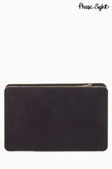 Phase Eight Tammara Suede Clutch