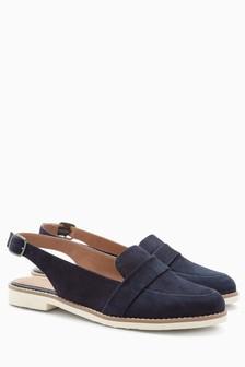 EVA Slingback Loafers