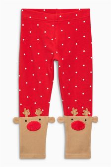 Reindeer Leggings (3mths-6yrs)