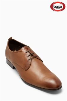 Base London Tan Business Softy Lace-Up Shoe