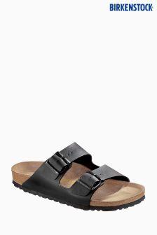 Birkenstock® Black Arizona Birko Flor Sandal