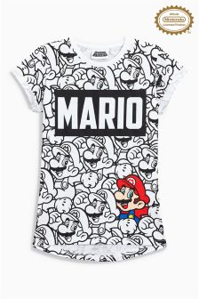 Mario All Over Print T-Shirt (3-14yrs)