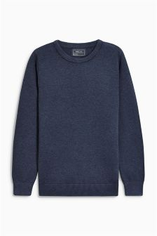 Birdseye Knit Jumper (3-16yrs)