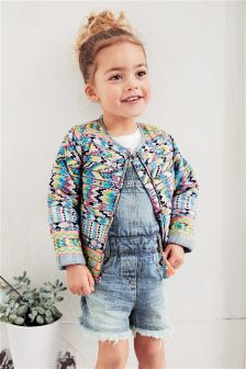 Printed Jacket (3mths-6yrs)