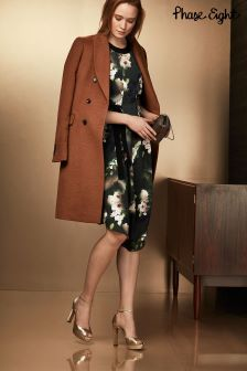 Phase Eight Camel Caterina Crombie Coat