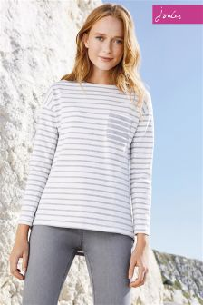 Joules Bay Hope Cream Stripe Top