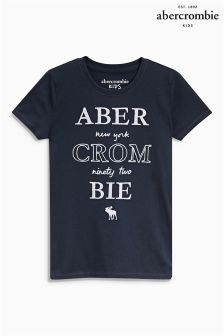 Abercrombie & Fitch Navy Tee