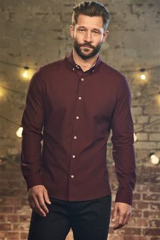 Double Collar Long Sleeve Shirt