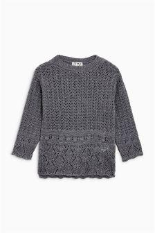 Crochet Knit Sweater (3-16yrs)