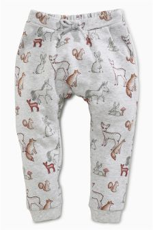 Animal Print Soft Trousers (3mths-6yrs)