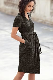 Knit Look Dress