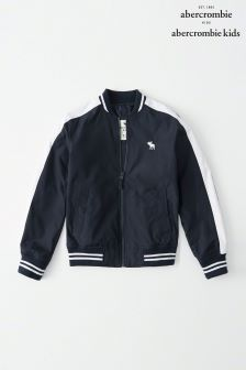 Abercrombie & Fitch Navy Bomber Jacket