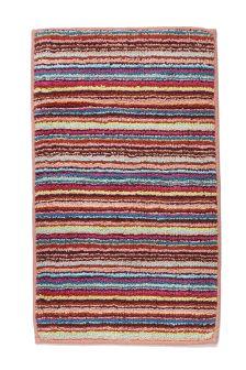 Micro Stripe Bath Mat