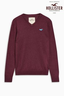 Hollister V-Neck Knit