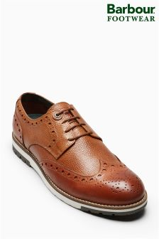 Barbour® Tan Palmer Brogue