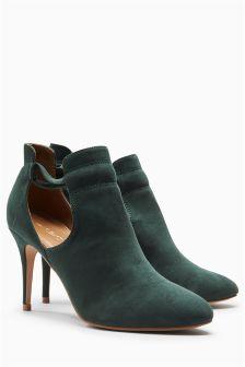 Open Side Shoe Boots