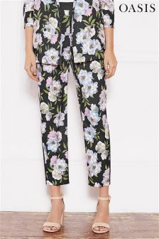 Oasis Multi Wild At Heart Soft Trouser
