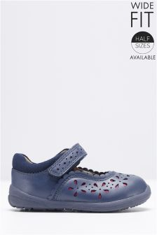 First Walker Floral Mary Janes (Younger Girls)