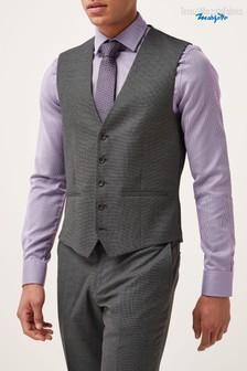 Signature Texture Suit: Waistcoat