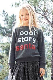 Santa Christmas Jumper (3-16yrs)