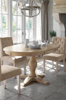 Hardwick Round Extending Dining Table