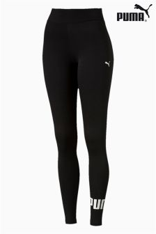 Puma® Yoga Black Essential Logo Legging