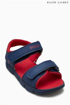 Polo Ralph Lauren Navy/Red Bluff Sandal