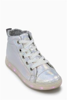Mermaid Lights High Tops (Older Girls)