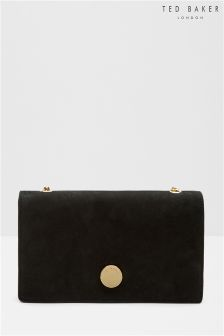 Ted Baker Black Leather Cross Body Bag