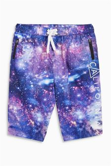 Space Print Swim Shorts (3-16yrs)