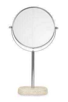 Natural Stone Effect Vanity Mirror