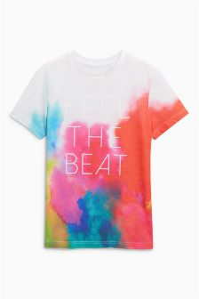 Feel The Beat T-Shirt (3-16yrs)