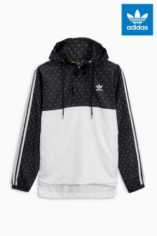 adidas Originals Black/White Pharrell Williams Windbreaker