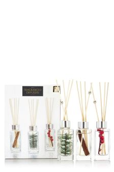 Set of 3 Festive Spice Diffusers