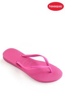 Havaianas® Shocking Pink Kids Slim Flip Flop